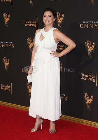 LOS ANGELES, CA - SEPTEMBER 09: Rachel Bloom at the 2017 Creative Arts Emmy Awards at Microsoft Theater on September 9, 2017 in Los Angeles, California. Credit: Faye Sadou/MediaPunch