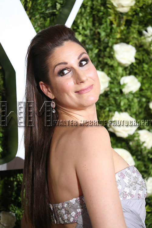 Stephanie J. Block attends the 71st Annual Tony Awards at Radio City Music Hall on June 11, 2017 in New York City.