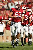 14 October 2006: Chris Marinelli during Stanford's 20-7 loss to Arizona during Homecoming at Stanford Stadium in Stanford, CA.