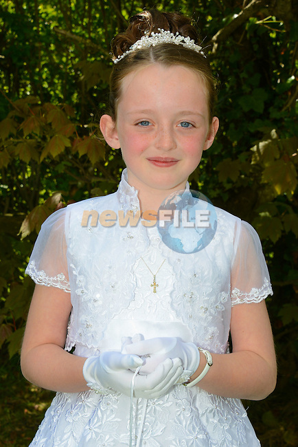 09/05/2015 - Laytown Communion – Sophie Deegan. Picture: www.newsfile.ie