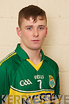 Chris Davies member of the Kerry U-21 panel 2012