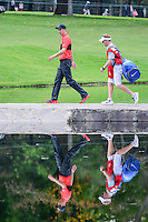 Ross Fisher (ENG) walks across the bridge on 6 during round 2 of the World Golf Championships, Mexico, Club De Golf Chapultepec, Mexico City, Mexico. 3/3/2017.<br /> Picture: Golffile | Ken Murray<br /> <br /> <br /> All photo usage must carry mandatory copyright credit (&copy; Golffile | Ken Murray)