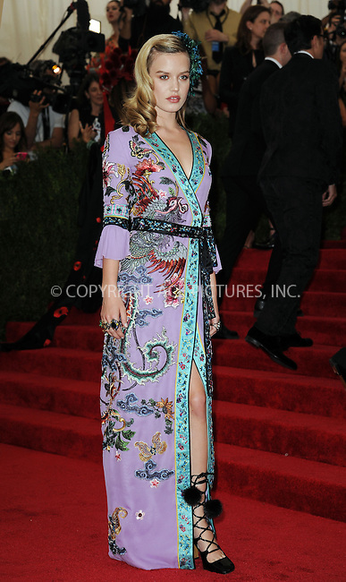 WWW.ACEPIXS.COM<br /> <br /> May 4, 2015, New York City<br /> <br /> Georgia May Jagger attending the Costume Institute Benefit Gala celebrating the opening of China: Through the Looking Glass at The Metropolitan Museum of Art on May 4, 2015 in New York City.<br /> <br /> By Line: Kristin Callahan/ACE Pictures<br /> <br /> <br /> ACE Pictures, Inc.<br /> tel: 646 769 0430<br /> Email: info@acepixs.com<br /> www.acepixs.com