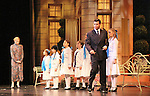 Guiding Light's Mandy Bruno and As The World Turns' Burke Moses and the von Trapp children star in the Sound of Music as Maria and Captain von Trapp in a national tour now at Wolf Trap National Park for the Performing Arts in Vienna, Virginia on September 1, 2010.