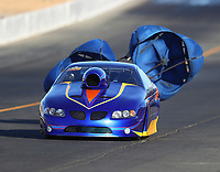 Jul 28, 2017; Sonoma, CA, USA; NHRA top sportsman driver Kelly Harper during qualifying for the Sonoma Nationals at Sonoma Raceway. Mandatory Credit: Mark J. Rebilas-USA TODAY Sports