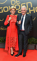 20180207 – BRUSSELS ,  BELGIUM : Patrick Orlans (R) pictured during the  64nd men edition of the Golden Shoe award ceremony and 2nd Women's edition, Wednesday 7 February 2018, in Brussels Heyzel Palace 12. The Golden Shoe (Gouden Schoen / Soulier d'Or) is an award for the best soccer player of the Belgian Jupiler Pro League championship during the year 2017. The female edition is the second in Belgium.  PHOTO DIRK VUYLSTEKE | Sportpix.be