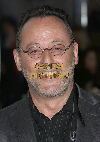 "JEAN RENO.""Couples Retreat"" Los Angeles Premiere held at Mann Village Theatre, Westwood, CA, USA..October 5th, 2009.headshot portrait grey gray pinstripe glasses stubble facial hair.CAP/ADM/CH.©Charles Harris/AdMedia/Capital Pictures"