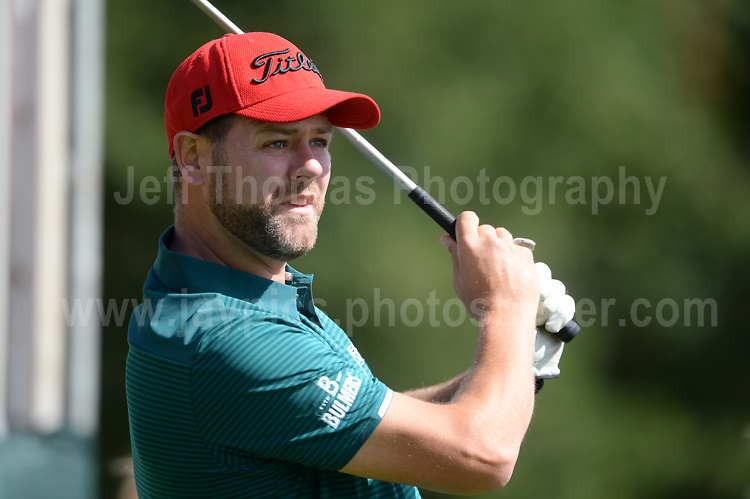 Westlife band member Brian McFadden during The 2017 Celebrity Cup golf tournament at the Celtic Manor Resort, Newport, South Wales. 1.07.2017 <br /> <br /> <br /> Jeff Thomas Photography -  www.jaypics.photoshelter.com - <br /> e-mail swansea1001@hotmail.co.uk -<br /> Mob: 07837 386244 -