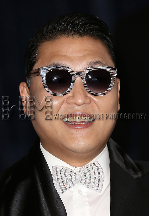 PSY  attending the  2013 White House Correspondents' Association Dinner at the Washington Hilton Hotel in Washington, DC on 4/27/2013