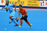 Meor of Malaysia during the Hockey World League Quarter-Final match between India and Malaysia at the Olympic Park, London, England on 22 June 2017. Photo by Steve McCarthy.