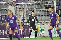 Orlando, FL - Saturday September 02, 2017: Ashlyn Harris during a regular season National Women's Soccer League (NWSL) match between the Orlando Pride and the Boston Breakers at Orlando City Stadium.