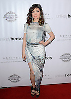 LOS ANGELES, CA, USA - NOVEMBER 08: Anna Maria Perez de Tagle arrives at the Unlikely Heroes' 3rd Annual Awards Dinner And Gala held at the Sofitel Hotel on November 8, 2014 in Los Angeles, California, United States. (Photo by Celebrity Monitor)
