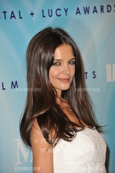 Katie Holmes at the Women in Film 2011 Crystal + Lucy Awards at the Beverly Hilton Hotel..June 16, 2011  Beverly Hills, CA.Picture: Paul Smith / Featureflash