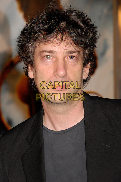 "NEIL GAIMAN, Writer.""Beowulf"" Los Angeles Premiere at Mann's Village Theatre, Westwood, California, USA..November 5th, 2007.headshot portrait.CAP/ADM/BP.©Byron Purvis/AdMedia/Capital Pictures."