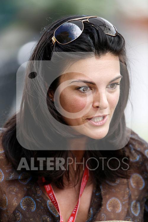 Motorsports / Formula 1: World Championship 2008, GP of Australia , .Karen Minier (BEL), girlfriend of David Coulthard.