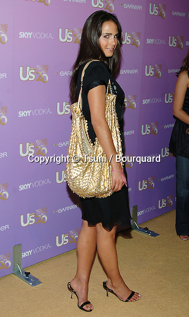 Jordana Brewster arriving at the US Weekly's Young Holywood Hot 20 at the LAX Club in Los Angeles. September 16, 2005.