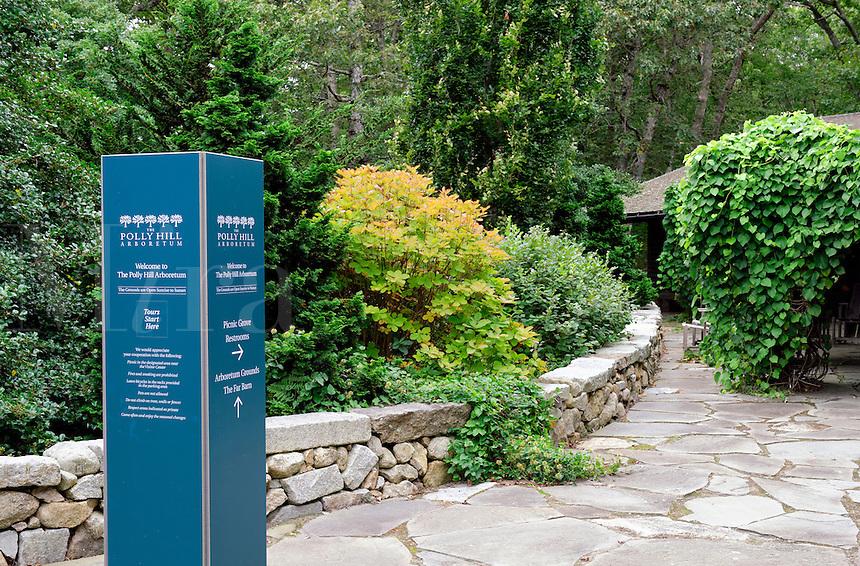 Polly Hill Arboretum, West Tisbury, Martha's Vineyard, Massachusetts, USA