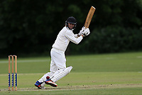 K Scarlioli of Hornchurch during Hornchurch CC (batting) vs Billericay CC, Shepherd Neame Essex League Cricket at Harrow Lodge Park on 8th June 2019