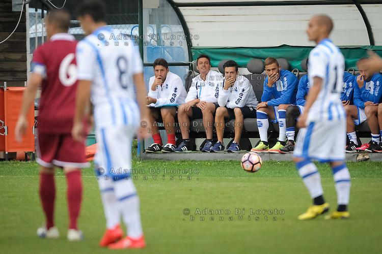 Massimo Oddo (Pescara)  during the withdrawal preseason Serie A; match friendly between Pescara vs San Nicolò, on July 28, 2016. Photo: Adamo Di Loreto/BuenaVista*photo