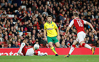 Yanic Wildschut of Norwich City during the Carabao Cup match between Arsenal and Norwich City at the Emirates Stadium, London, England on 24 October 2017. Photo by Carlton Myrie.