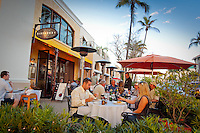 Open-air, upscale dining and nightlife along historic 5th Avenue South, Naples, Florida, USA. Photo by Debi Pittman Wilkey
