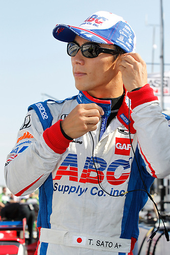 11-12 July, 2015, West Allis, Wisconsin USA<br /> Takuma Sato<br /> ©2015, Ernie Masche<br /> LAT Photo USA