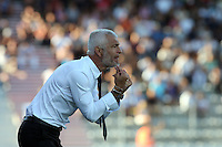 Fabrizio Ravanelli coach (Ajaccio)  <br /> Football Calcio 2013/2014<br /> Ligue 1 Francia<br /> Foto Panoramic / Insidefoto <br /> ITALY ONLY