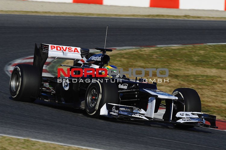 21.02.2012, Circuit De Catalunya, ESP, Barcelona, Formula 1, Testfahrten 2012, im Bild Bruno Senna [BRA] Williams F1 Team  Foto © nph / Mathis