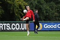 David Brooks of Wales in action during the Wales Training Session at The Vale Resort in Cardiff, Wales, UK. Monday 8 October 2018
