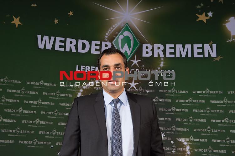 16.12.2013, GOP - Theater, Bremen, Weihnachtsfeier Werder Bremen 2013, im Bild<br /> <br /> Robin Dutt<br /> <br /> <br /> Foto &copy; nordphoto / Kokenge