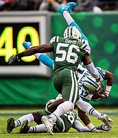 The Carolina Panthers vs. The New York Jets, Sunday afternoon November 26, 2017 at MetLife Stadium in East Rutherford, NJ.<br /> <br /> Photo by: PatrickSchneiderPhoto.com