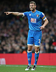 Bournemouth's Simon Francis in action during the Premier League match at the Emirates Stadium, London. Picture date October 26th, 2016 Pic David Klein/Sportimage