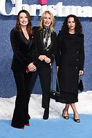 "Karen Woodward and Sarah Dallin<br /> arriving for the ""Last Christmas"" Premiere at the BFI Southbank, London.<br /> <br /> ©Ash Knotek  D3531 11/11/2019"