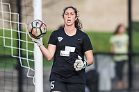 Boston, MA - Saturday April 29, 2017: Sammy Jo Prudhomme during warmups before a regular season National Women's Soccer League (NWSL) match between the Boston Breakers and Seattle Reign FC at Jordan Field.