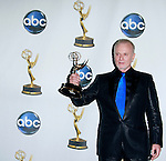 "Outstanding Lead Actor Anthony Geary of ""General Hospital"" poses with his award at the 35th Annual Daytime Emmy Awards held at the Kodak Theatre in Los Angeles on June 20, 2008."
