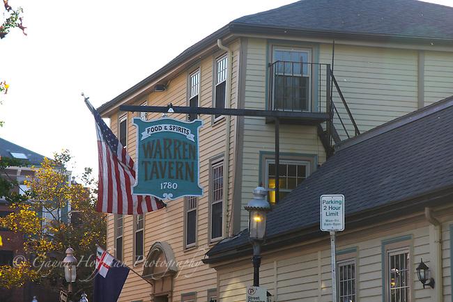 Exterior of the Warren Tavern, Charlestown, MA