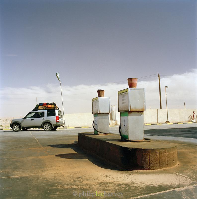 Petrol Station near Sabha, Libya
