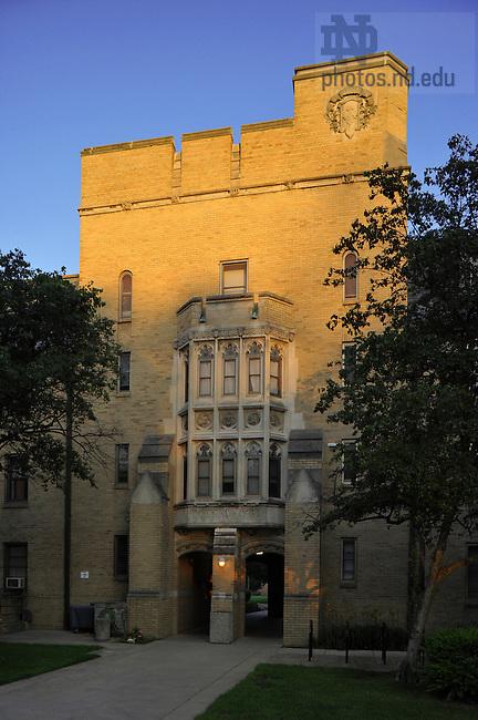 Howard Hall..Photo by Matt Cashore/University of Notre Dame