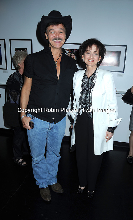 "Randy Jones and Robin Strasser at The opening night of ""White's Lies"" on May 6, 2010 at New World Stages in New York City. The show stars Betty Buckley, Tuc Watkins, Peter Scolari and Christy Carlson Romano."