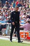 Atletico de Madrid´s coach Diego Pablo Simeone during 2014-15 La Liga Atletico de Madrid V Espanyol match at Vicente Calderon stadium in Madrid, Spain. October 19, 2014. (ALTERPHOTOS/Victor Blanco)