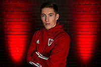Harry Wilson of Wales poses for a photo at St Fagans National Museum of History in Cardiff, Wales, UK. Tuesday 12th November 2019