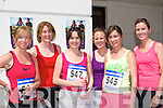 Sandra Lucey, Maria Doherty, Ciara O'Sullivan, Karen O'Connor, Sarah Hobbert and Karen Kelleher on the run at the Killarney Lions club mini marathon in Killarney on Sunday