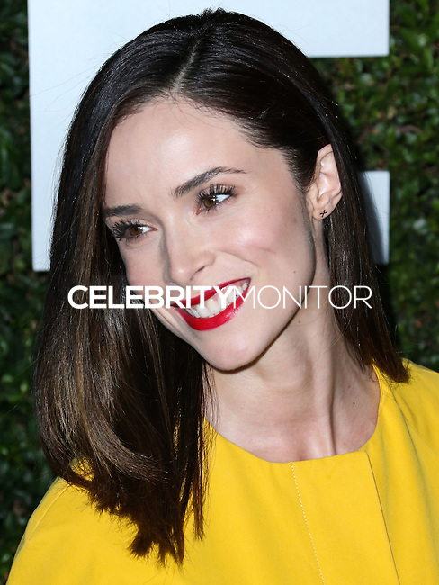 BEVERLY HILLS, CA, USA - OCTOBER 02: Abigail Spencer arrives at Michael Kors Launch Of Claiborne Swanson Franks's 'Young Hollywood' Book held at a Private Residence on October 2, 2014 in Beverly Hills, California, United States. (Photo by Xavier Collin/Celebrity Monitor)