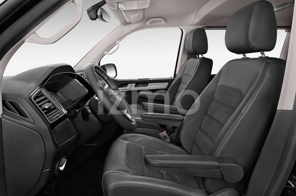 Front seat view of 2016 Volkswagen Multivan Comfortline BMT 5 Door Passenger Van Front Seat car photos