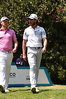 Justin Harding (RSA) and Tommy Fleetwood (ENG) during Rd4 of the World Golf Championships, Mexico, Club De Golf Chapultepec, Mexico City, Mexico. 2/23/2020.<br /> Picture: Golffile | Ken Murray<br /> <br /> <br /> All photo usage must carry mandatory copyright credit (© Golffile | Ken Murray)