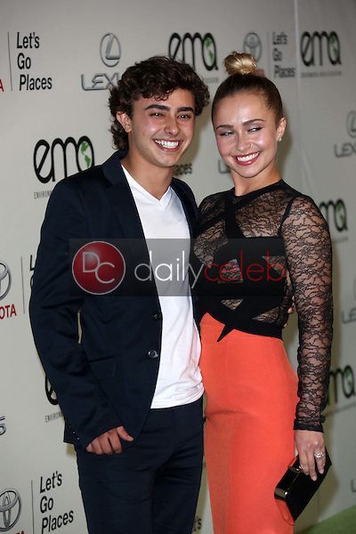 Jansen Panettiere, Hayden Panettiere<br />