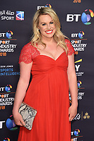 Chemmy Alcott<br /> arriving for the BT Sport Industry Awards 2018 at the Battersea Evolution, London<br /> <br /> ©Ash Knotek  D3399  26/04/2018