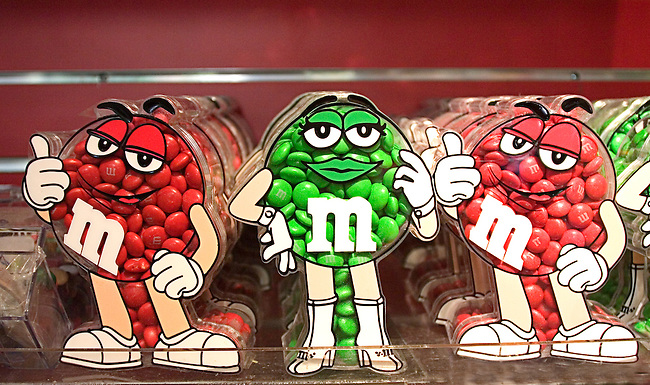 M & Ms Candy, Las Vegas, Nevada