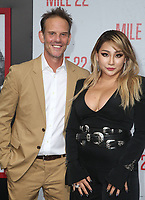 9 August 2018-  Westwood, California - Peter Berg, CL. Premiere Of STX Films' &quot;Mile 22&quot; held at The Regency Village Theatre. <br /> CAP/MPIFS<br /> &copy;MPIFS/Capital Pictures