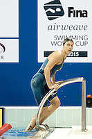 PELLEGRINI Federica ITA<br /> 200 Butterfly Women<br /> FINA Airweave Swimming World Cup 2015<br /> Doha, Qatar 2015  Nov.2 nd - 3 rd<br /> Day3 - Nov. 3rd<br /> Photo G. Scala/Deepbluemedia/Insidefoto